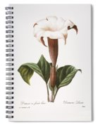 Redoute: Datura, 1833 Spiral Notebook