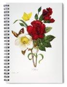 Redoute: Hellebore, 1833 Spiral Notebook