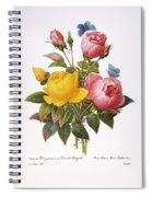 Redoute: Roses, 1833 Spiral Notebook