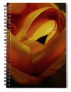 Reds And Oranges Spiral Notebook