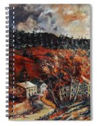 Redu Village Belgium Spiral Notebook
