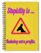 Reducing Bigstock Donkey 171252860 Spiral Notebook