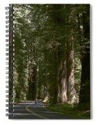 Redwood Highway Spiral Notebook