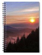 Redwood Sun Spiral Notebook