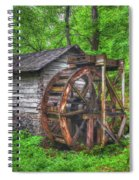 Reed Springs Grist Mill Spiral Notebook