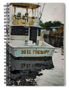 Reel Therapy Spiral Notebook