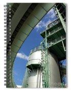 Refinery Detail Spiral Notebook