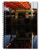 Reflected Below Spiral Notebook