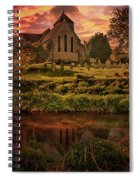 Reflected In The Stour Spiral Notebook