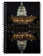 Reflecting At The Capitol Spiral Notebook