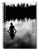 Reflecting Beauty Bow Spiral Notebook