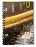 Reflecting Boat  Spiral Notebook