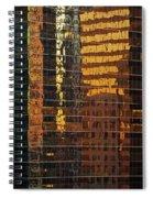 Reflecting Chicago Spiral Notebook
