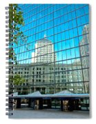 Reflecting Hancock Spiral Notebook