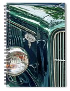Reflecting On History Spiral Notebook