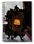 Reflecting On Lamps And Dreams  Spiral Notebook