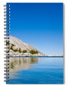 Reflecting On Treasure Spiral Notebook