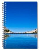 Reflecting On Treasure Lake Spiral Notebook