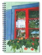 Reflecting Panes Spiral Notebook