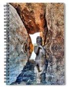 Reflecting Self Spiral Notebook