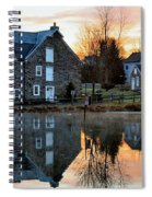 Reflection At Wagner Mill Spiral Notebook