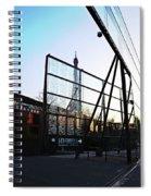 Reflection Eiffel Paris Spiral Notebook
