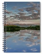 Reflection In A Mountain Pond Spiral Notebook