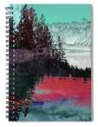 Reflection In The Lake Spiral Notebook