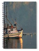 Reflections Of A Nautical Timepiece Spiral Notebook