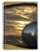 Reflection Of A Sunset Spiral Notebook