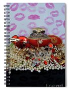 Reflection Of Love Spiral Notebook