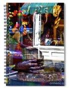 Reflection On Jazz Spiral Notebook