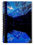 Reflection On String Lake Spiral Notebook