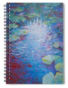 Reflection Pond With Liles Spiral Notebook