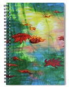 Reflection Relaxing Spiral Notebook