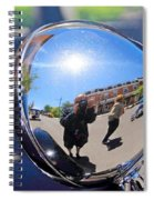 Reflection Selfie Spiral Notebook