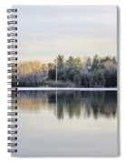 Reflections Across The Water Spiral Notebook