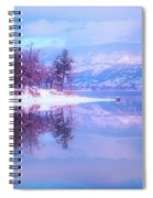 Reflections Along Highway 97 Spiral Notebook