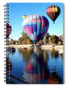 Reflections Along The Channel Spiral Notebook