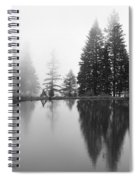 Reflections And Fog Spiral Notebook