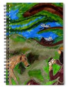 Reflections And Prayer Of St. Francis Spiral Notebook