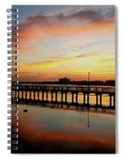Reflections At Sunrise  Spiral Notebook