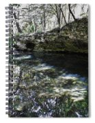 Reflections At The Grotto Spiral Notebook