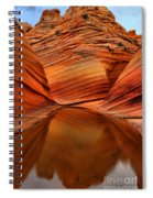 Reflections At The Wave Spiral Notebook
