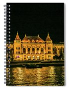 Reflections From Budapest University Spiral Notebook