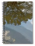 Reflections In A Lake - Poster Edges Spiral Notebook