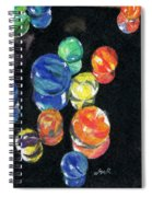 Reflections In Black Spiral Notebook