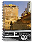 Reflections In Budapest Spiral Notebook