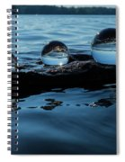 Reflections In Crystal Spiral Notebook
