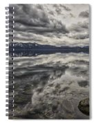 Reflections In Gray Spiral Notebook